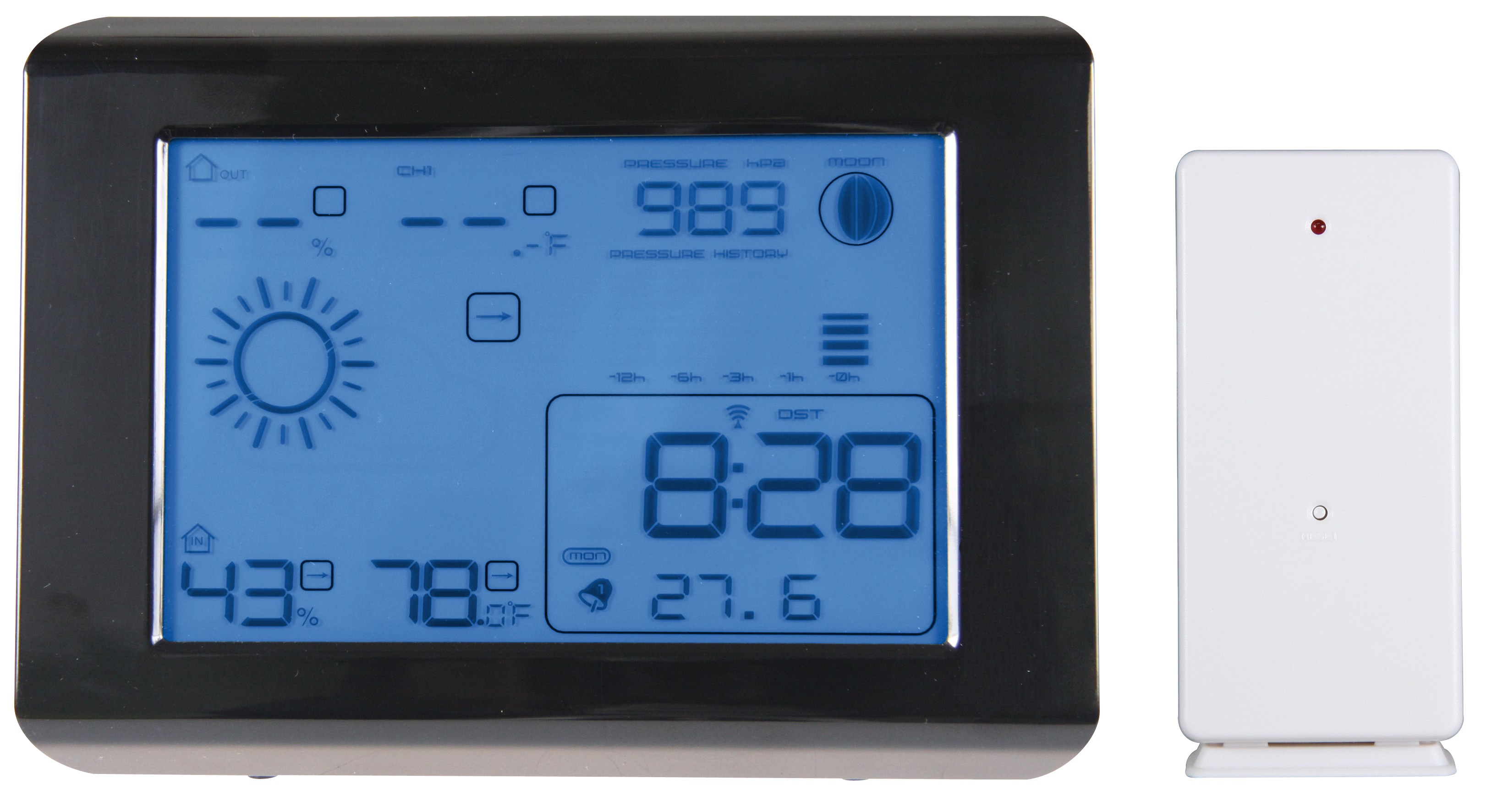LCD meteostanica IW003-DCF